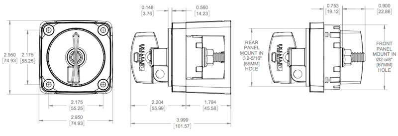 The 12 Volt Shop Battery Switches