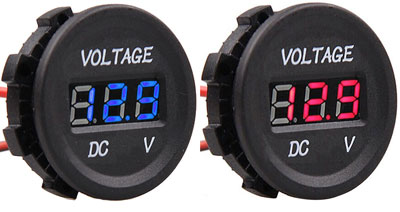 Digital Amp Meter Panel : The 12 volt shop