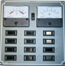 the volt shop the alzone winnebago control panel has been designed as a replacement for existing motorhome fuse panels the control panel is laser cut and anodises to